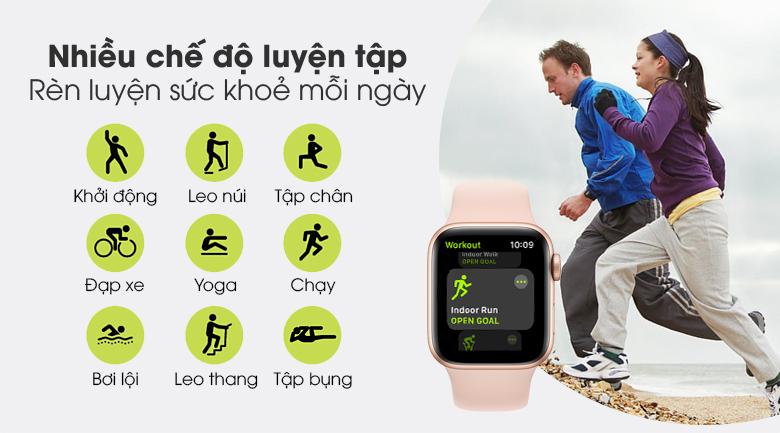 Apple Watch S6 hỗ trợ bạn luyện tập thể thao hiệu quả và khoa học