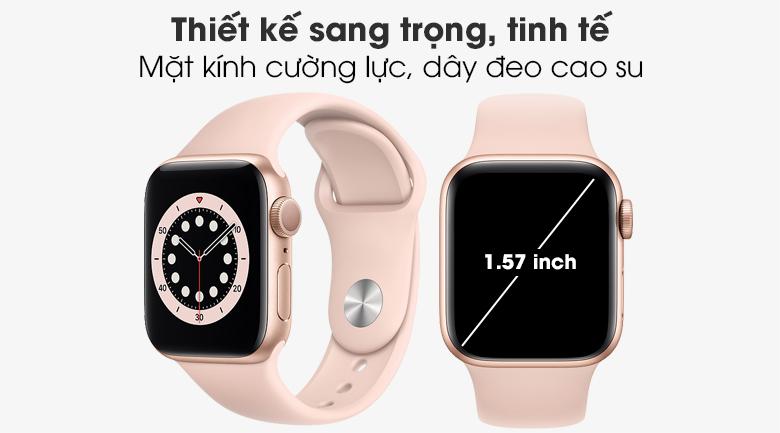 Apple Watch S6 với thiết kế sang trọng và hiện đại