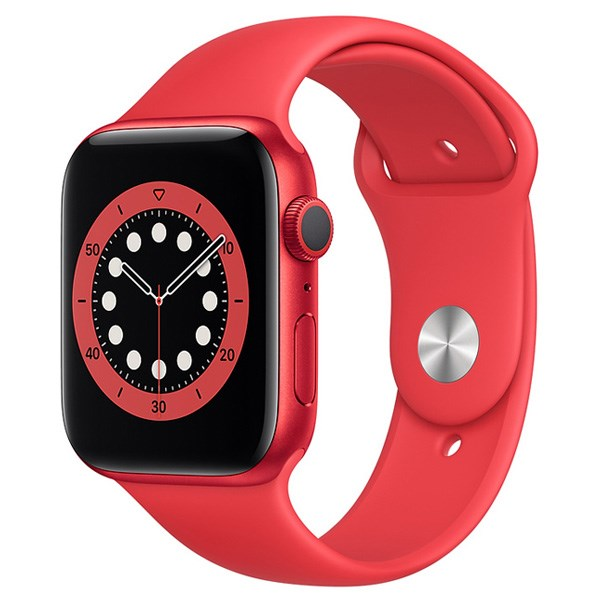 Apple Watch S6 40mm viền nhôm dây cao su (Product RED)