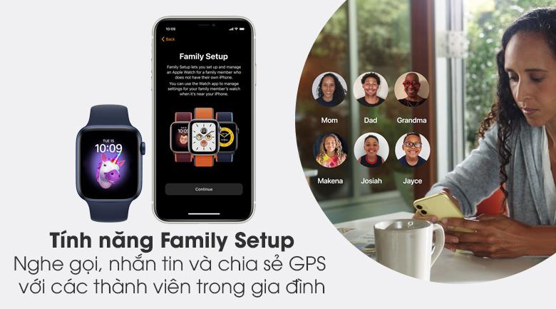 Apple Watch S6 44mm viền nhôm dây cao su có thêm tính năng mới