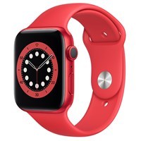 Apple Watch S6 44mm viền nhôm dây cao su (Product RED)