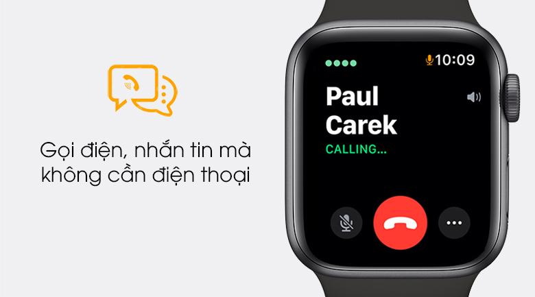 Apple Watch SE LTE 40mm viền nhôm dây cao su cho phép nghe gọi ngay trên đồng hồ