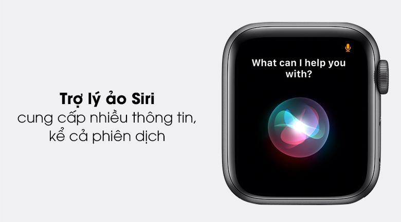 Apple Watch SE LTE 40mm viền nhôm dây cao su có trợ lý ảo hiện đại