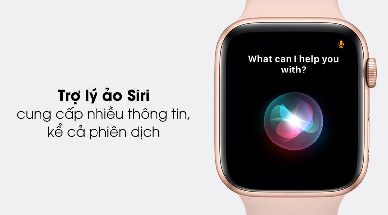 Apple Watch SE LTE 44mm viền nhôm dây cao su có trợ lý ảo Siri