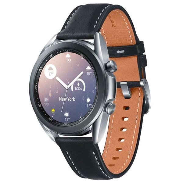 Samsung Galaxy Watch 3 41mm viền thép bạc dây da
