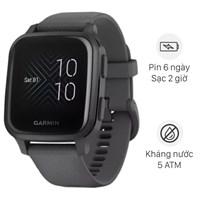 Đồng hồ thông minh Garmin Venu SQ dây silicone xám