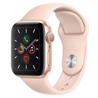 Apple Watch S5 44mm viền nhôm dây cao su hồng