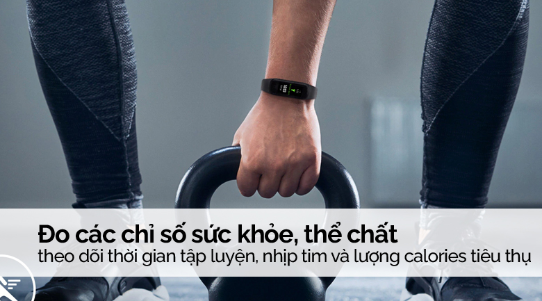 Samsung Galaxy Fit 2 có các tính năng hữu ích theo dõi quá trình luyện tập thể thao của bạn