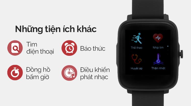 Đồng hồ thông minh BeU B2 Đen còn sở hữu nhiều tính năng thú vị khác chờ bạn khám phá