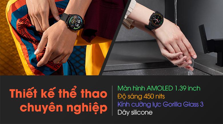 Đồng hồ thông minh Mi Watch có thiết kế thể thao chuyên nghiệp