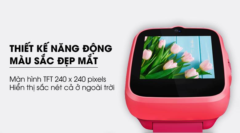 Đồng hồ định vị trẻ em Masstel Super Hero 4G mang thiết kế đẹp mắt