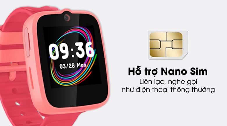 Đồng hồ định vị trẻ em Masstel Super Hero 4G có hỗ trợ Nano Sim
