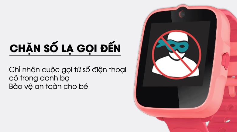 Đồng hồ định vị trẻ em Masstel Super Hero 4G có tính năng chặn cuộc gọi từ số lạ
