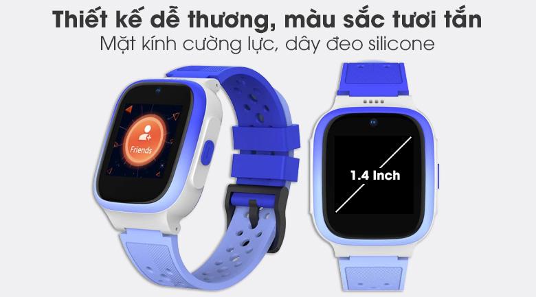 Đồng hồ định vị trẻ em Masstel Smart Hero 4G có thiết kế dễ thương