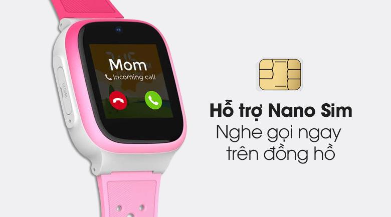 Đồng hồ định vị trẻ em Masstel Smart Hero 4G có tích hợp Nano Sim