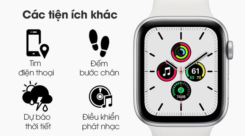 Đồng hồ Apple Watch SE LTE 44 mm còn nhiều tiện ích khác chờ bạn khám phá
