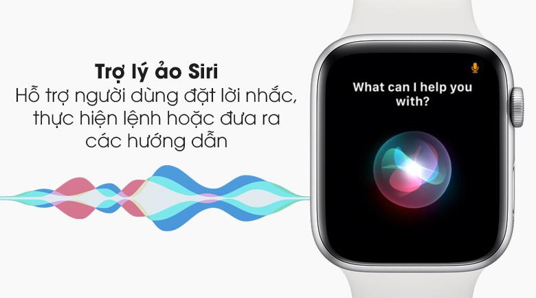 Đồng hồ Apple Watch SE LTE 44 mm hỗ trợ người dùng tốt hơn với trợ lý ảo Siri