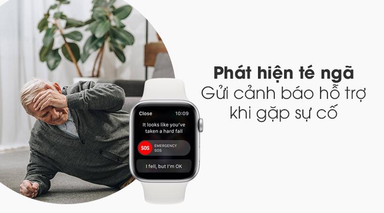 Đồng hồ Apple Watch SE LTE 44 mm có tính năng phát hiện té ngã
