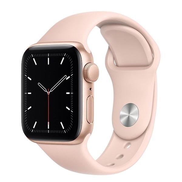 Apple Watch SE 40mm viền nhôm dây cao su hồng