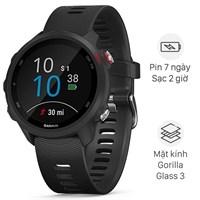 Đồng hồ thông minh Garmin Forerunner 245 Music dây silicone đen