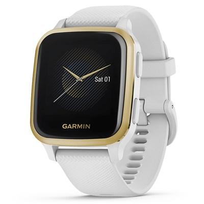 Đồng hồ thông minh Garmin Venu SQ dây silicone trắng