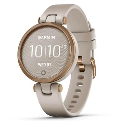 Đồng hồ thông minh Garmin Lily dây silicone vàng