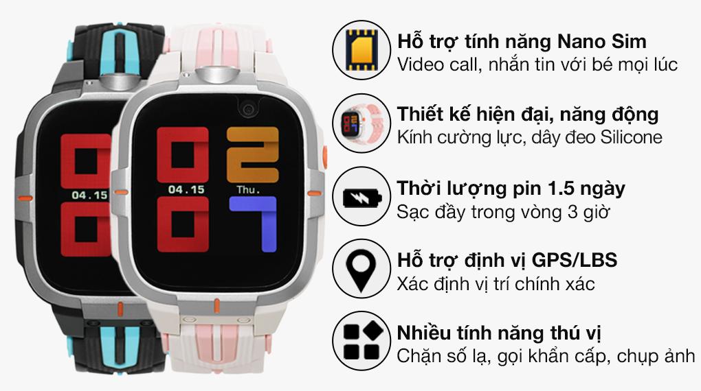 Kidcare 4G S8 - Hồng