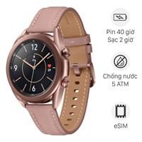 Samsung Galaxy Watch 3 LTE 41mm viền thép dây da hồng