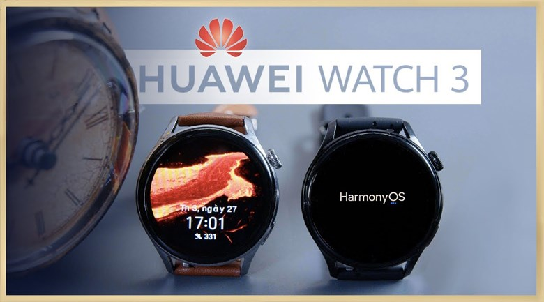 Huawei Watch 3 LTE 46mm dây silicon đen