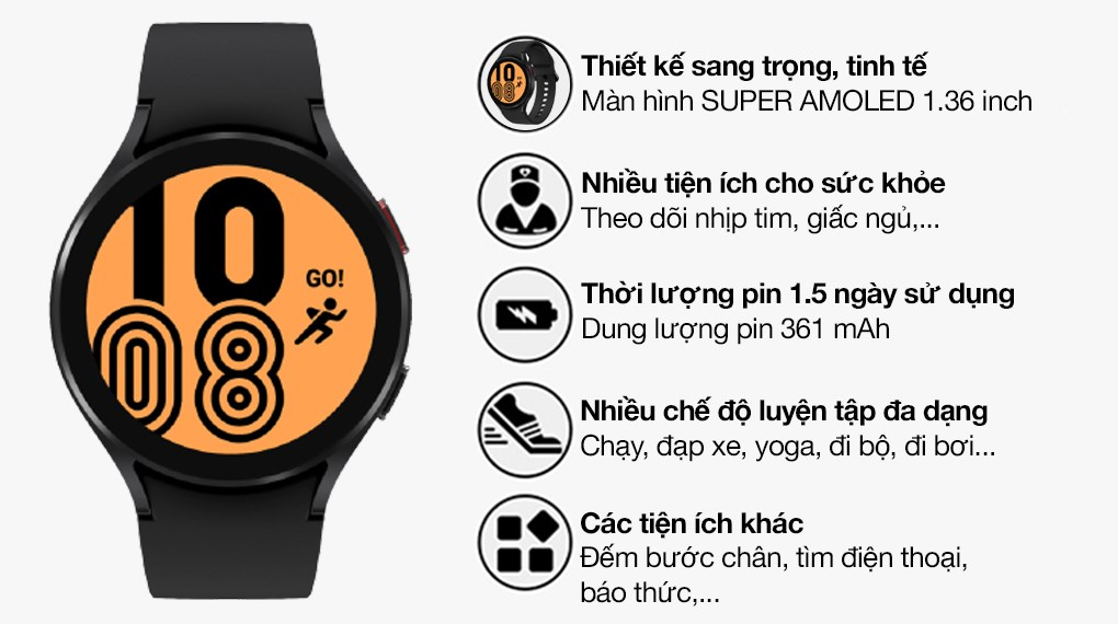 Galaxy Watch 4 LTE 44mm