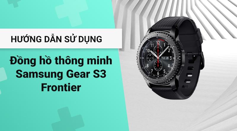 Samsung Gear S3 Frontier chính hãng | thegioididong com