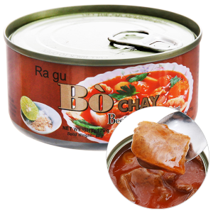 Ragu bò chay Vissan hộp 170g