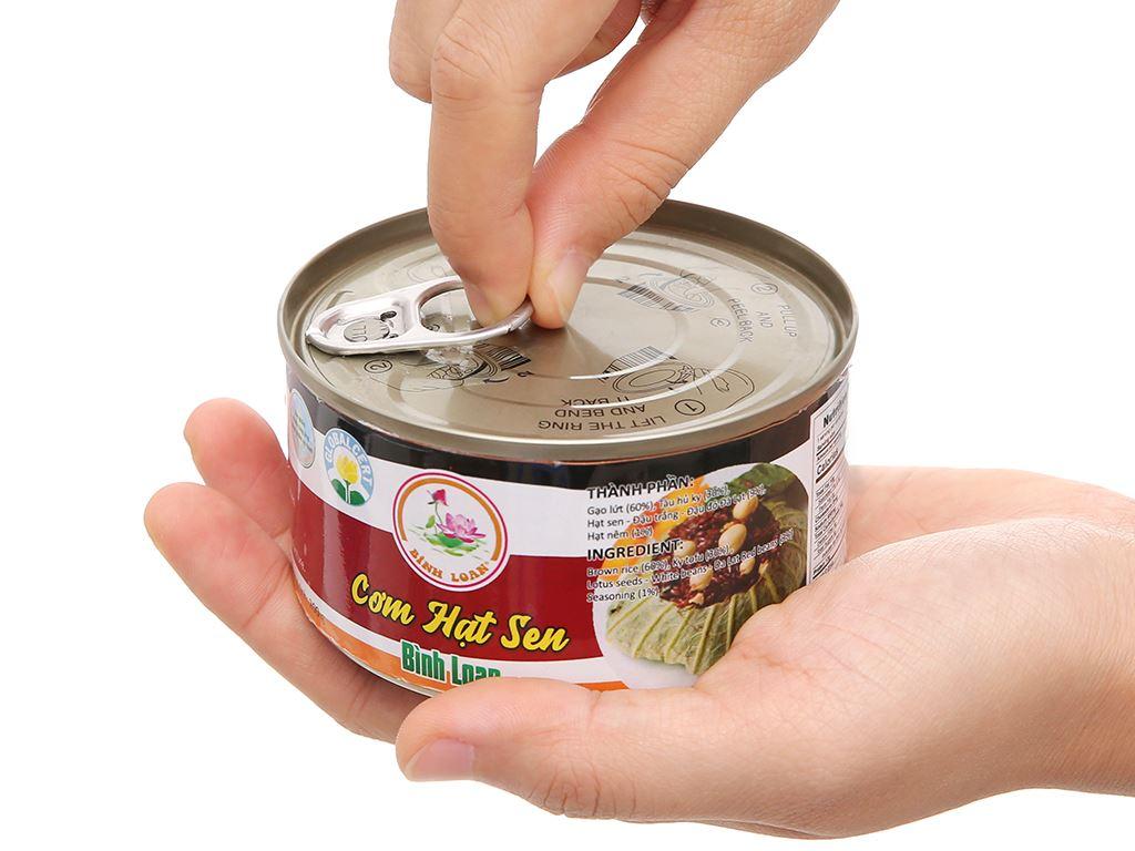 Cơm hạt sen Bình Loan hộp 200g 5