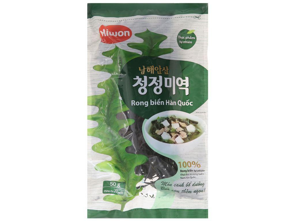 Rong biển khô Miwon vị truyền thống 50g 1