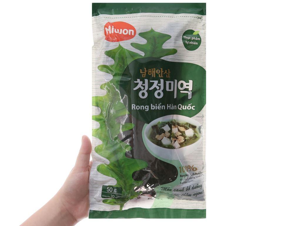 Rong biển khô Miwon vị truyền thống 50g 4