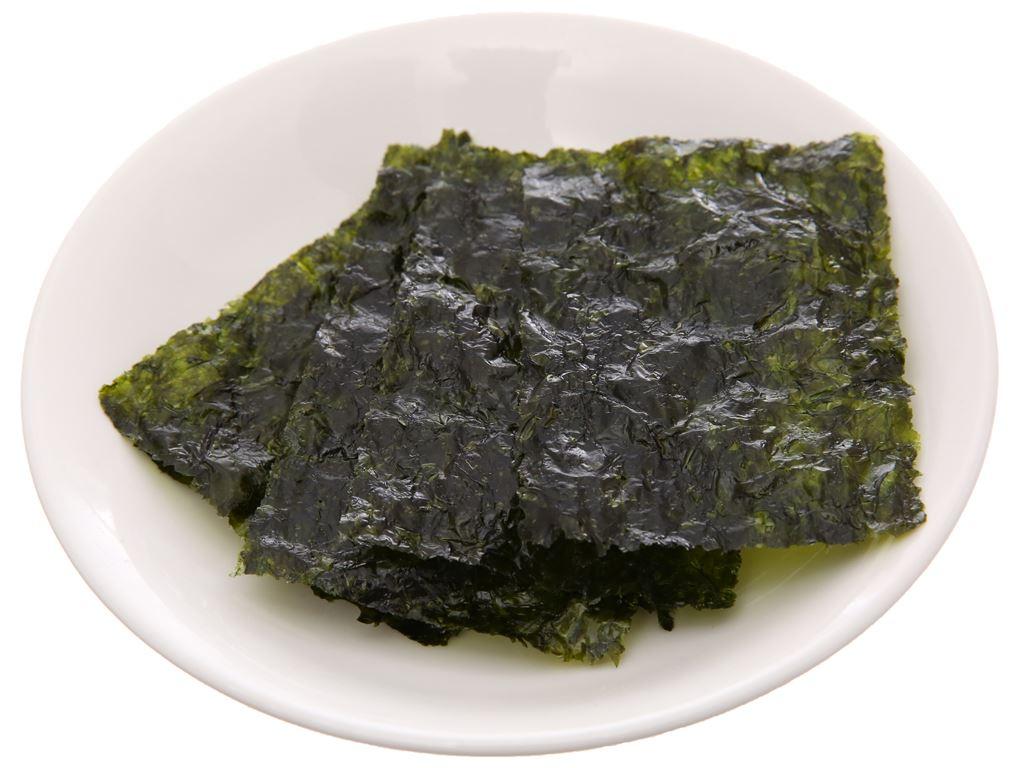Rong biển ăn liền Miwon vị oliu 2 gói 4.5g 5