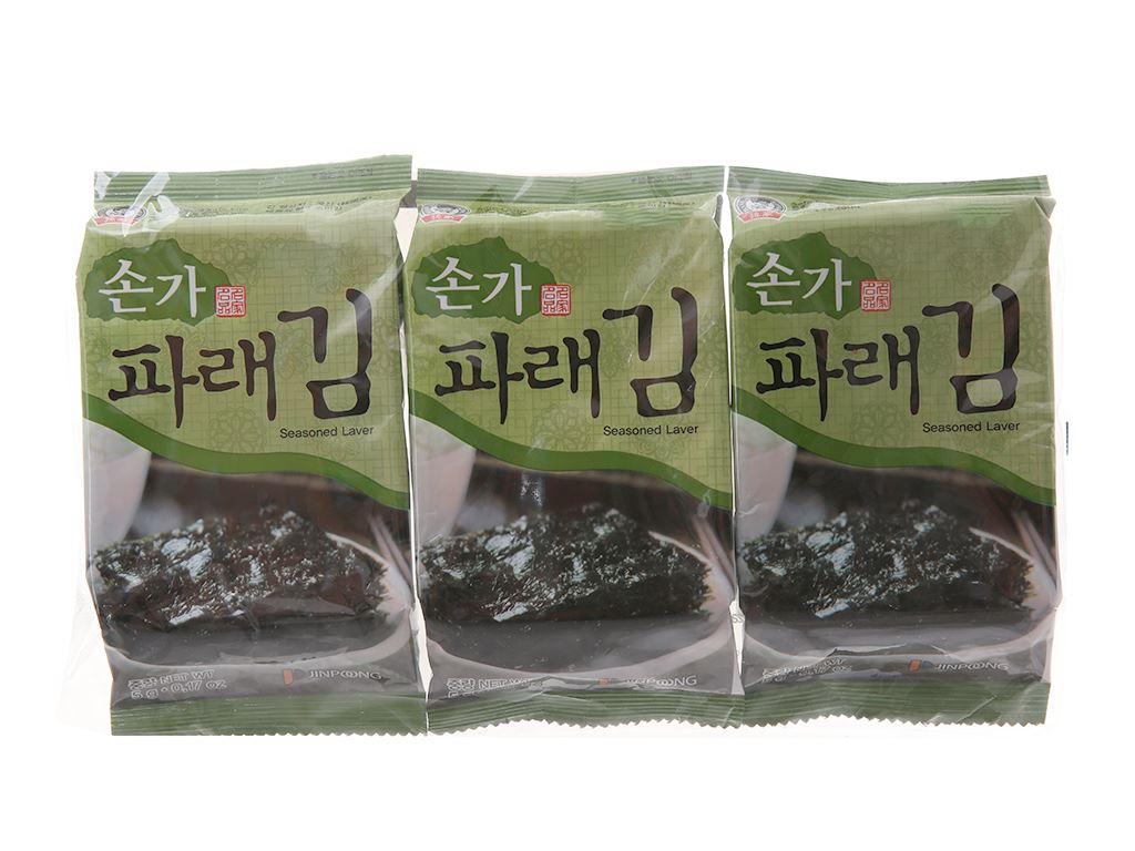 Rong biển ăn liền Godbawee 3 gói 5g 1