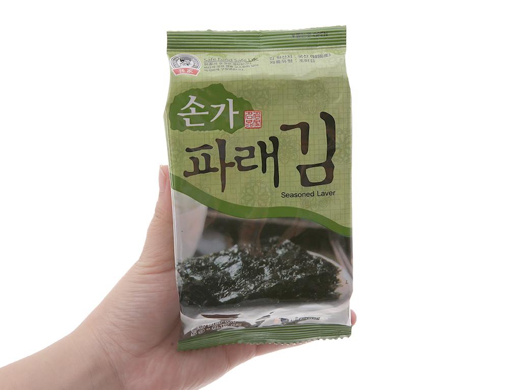 Rong biển ăn liền Godbawee 3 gói 5g 4