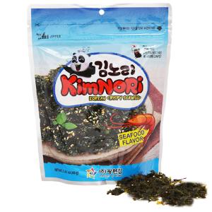 Rong biển ăn liền tẩm mè KimNoRi vị hải sản 40g