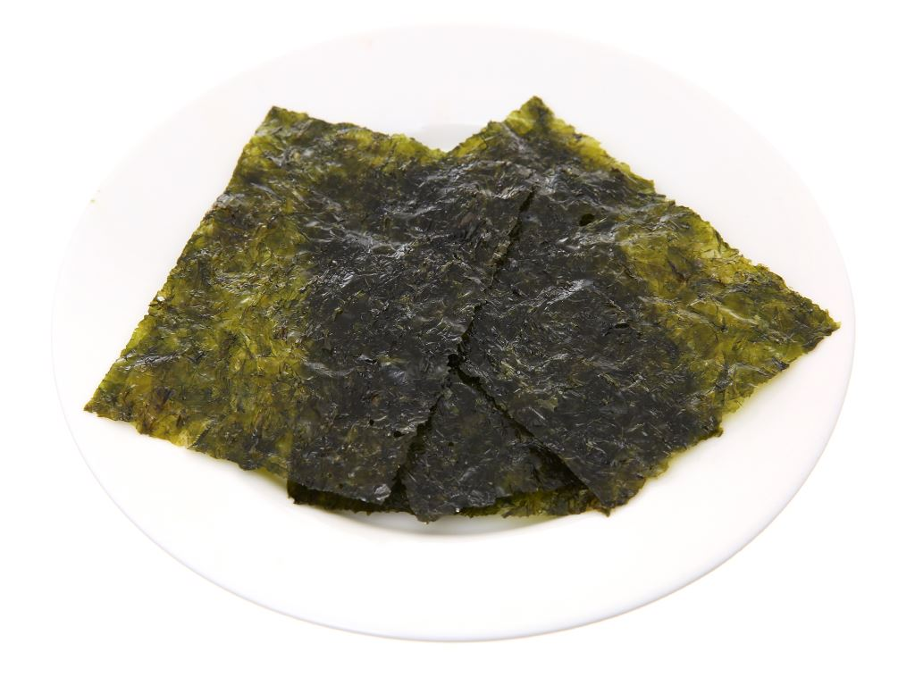Rong biển ăn liền Bibigo vị truyền thống 3 gói 5g 5