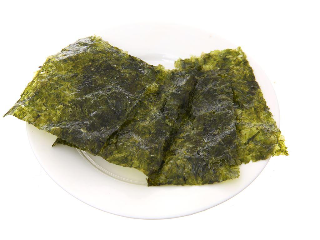 Rong biển ăn liền Bibigo Wasabi 3 gói 5g 5