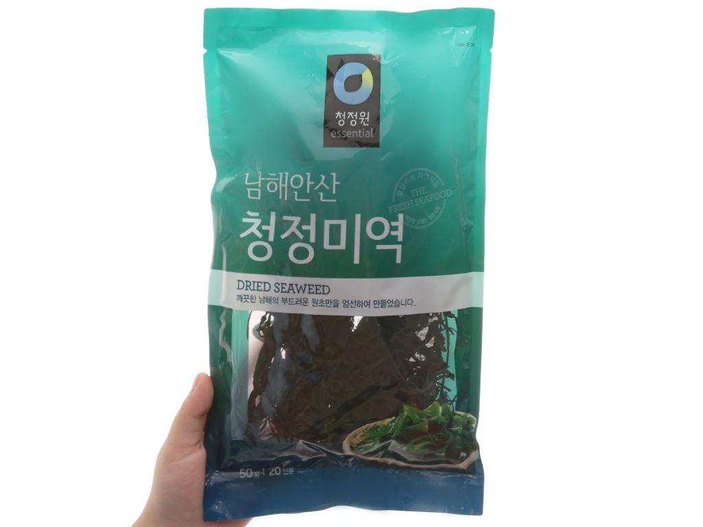 Rong biển nấu canh Chung Jung One 50g 3