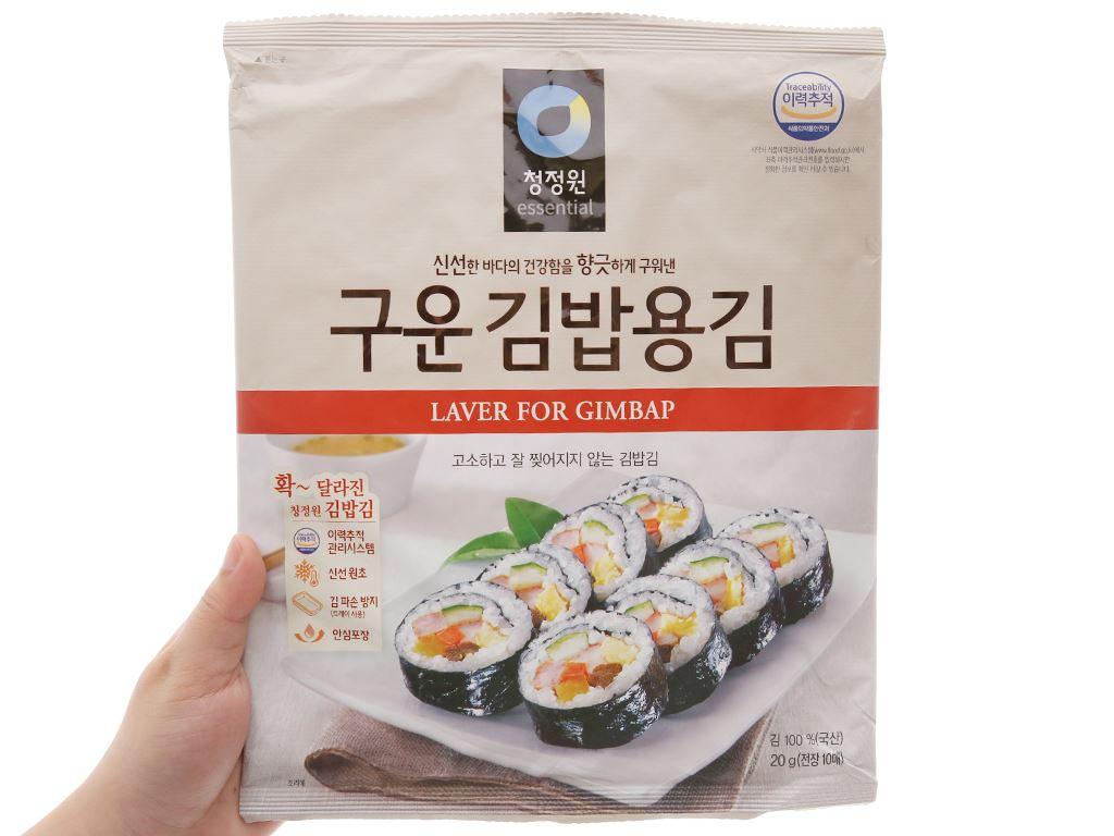 Rong biển cuộn cơm Essential 20g 3