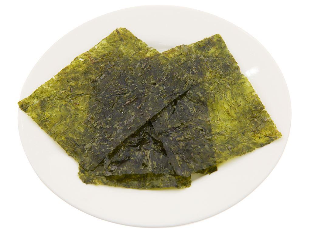 Rong biển sấy Seasoned Laver Green World 3 gói 6,5g 4
