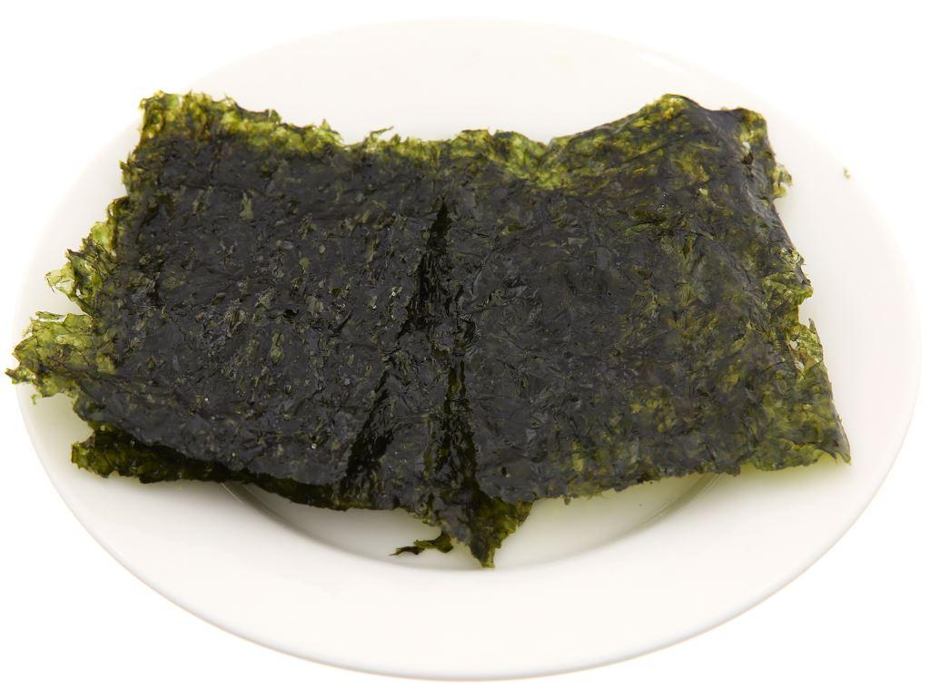 Rong biển ăn liền Chung Jung One tẩm dầu oliu 3 gói 5g 5