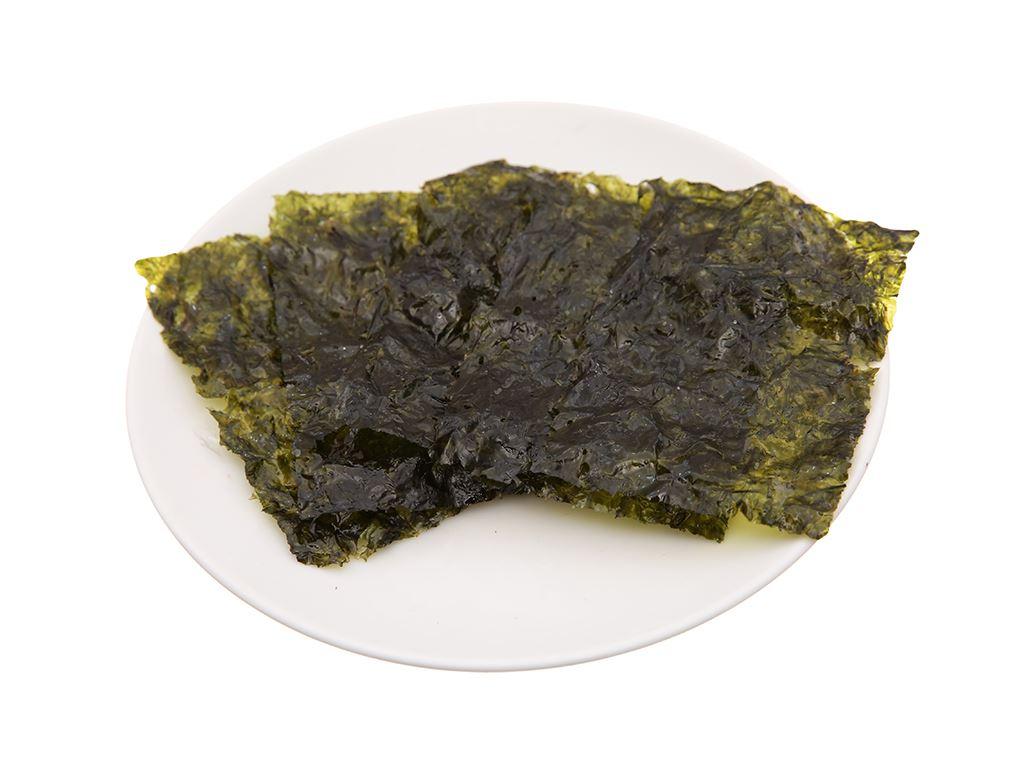 Tảo biển YangBan vị oliu 9 gói 5g 4