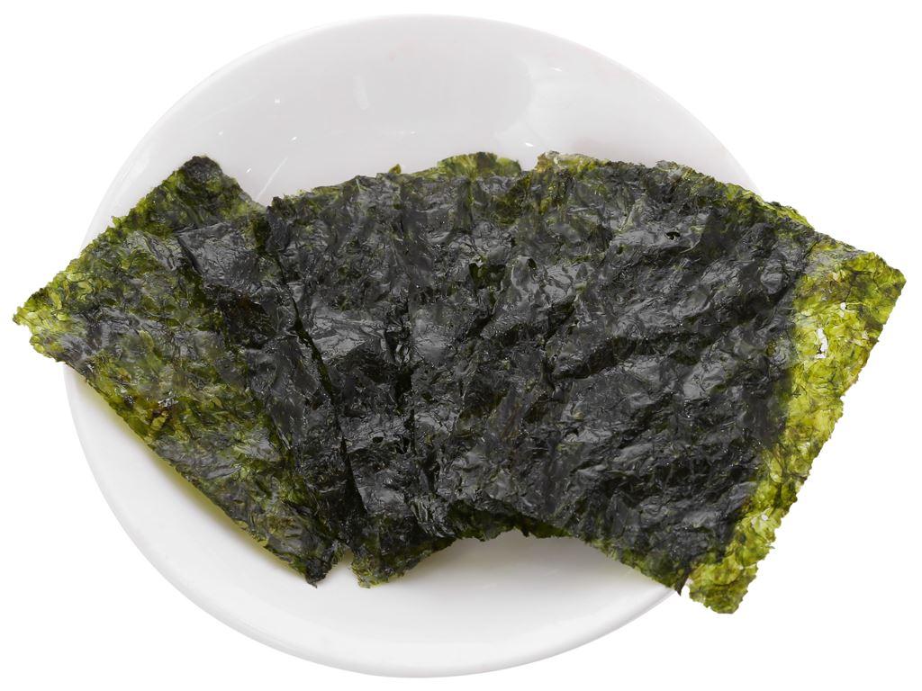 Rong biển ăn liền O'food tẩm dầu oliu (2 gói x 4g) 3