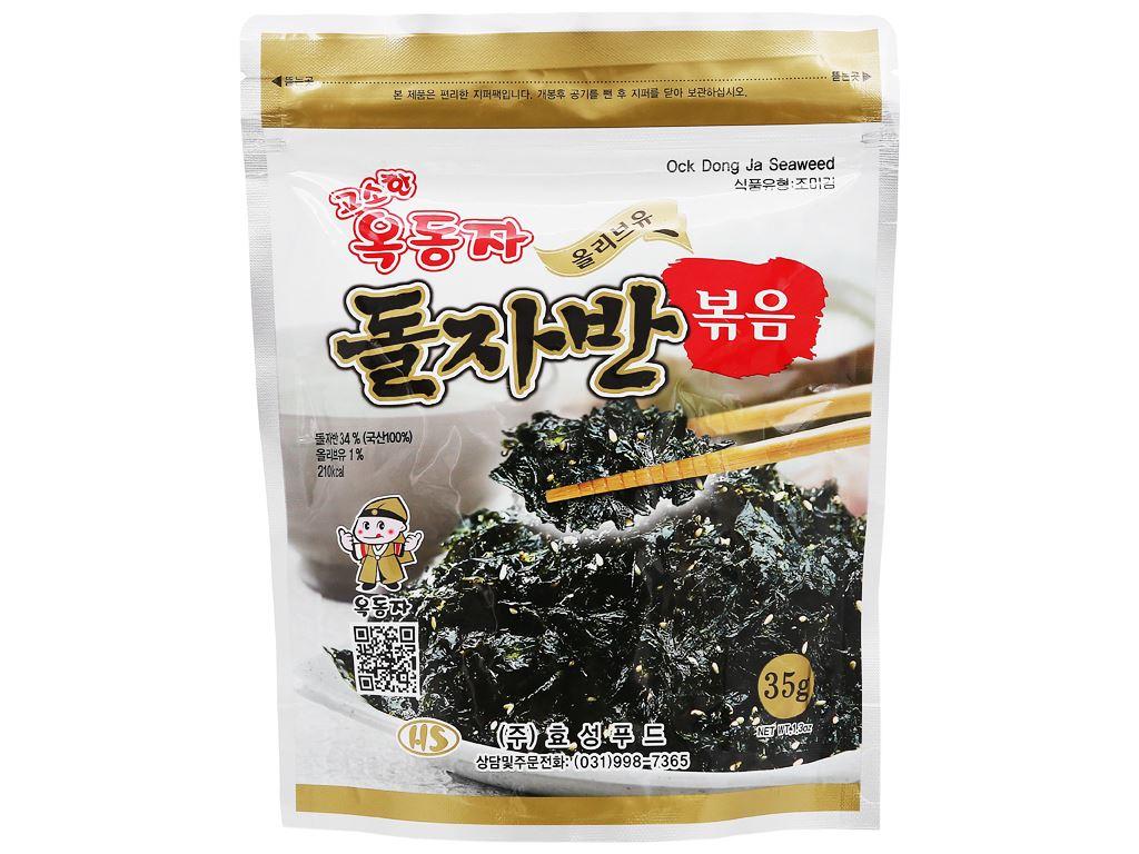 Rong biển rắc cơm Ock Dong Ja vị truyền thống gói 35g 1
