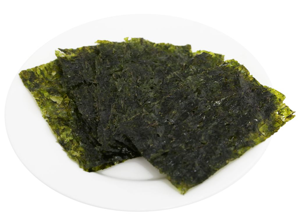 Rong biển ăn liền Ock Dong Ja vị trà xanh 3 gói 4.5g 8