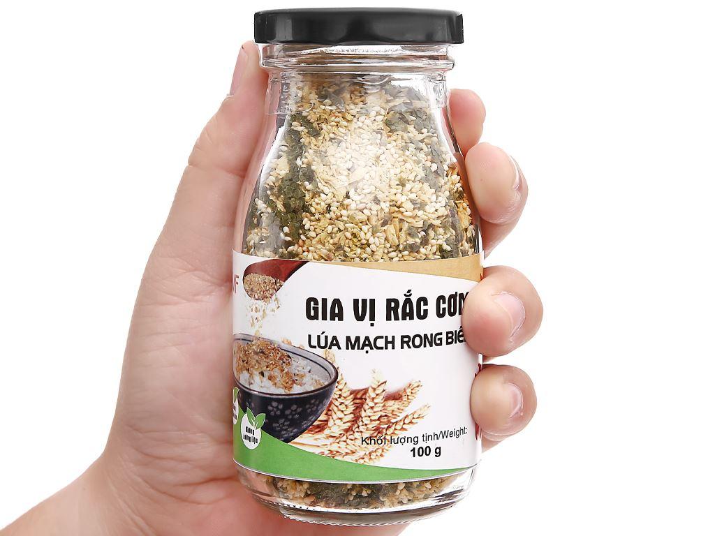 Gia vị rắc cơm lúa mạch rong biển Tâm Minh hũ 100g 4